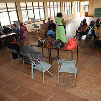 Youth activists from Nyeri County leave work early to participate in a brainstorming session on how to increase civic engagement outreach in 2012, as well as to increase women's leadership in the county.