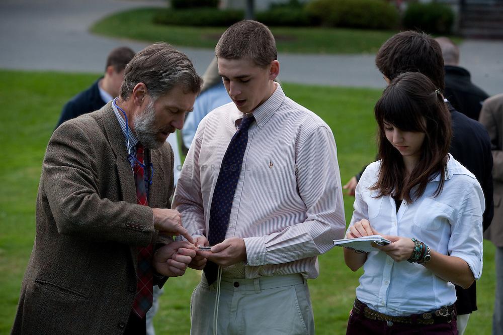 _DCN0721. Sheffield, MA, USA. ©2009 Chip Riegel / www.chipriegel.com. 10/06/2009. Berkshire School, fall 2009.