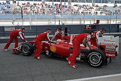 11.02.2010, Circuito de Jerez, ESP, Formula One Championsship, Jerez de la Frontera Tests, im Bild Fernando Alonso - Ferrari Marlboro, EXPA Pictures © 2010 for Austria Croatia and Germany only, Photographer EXPA / Inside Foto / Semedia / Sportida.com