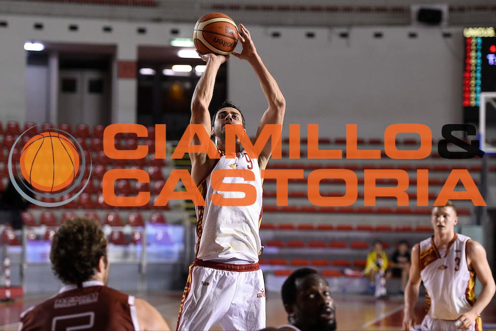 Giuliano Maresca<br /> Unicusano Roma - Lighthouse Trapani<br /> Campionato Basket LNP 2016/2017<br /> Roma 08/12/2016<br /> Foto Ciamillo-Castoria