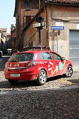 20110909 MACCHINA GOOGLE IN GIRO PER FERRARA
