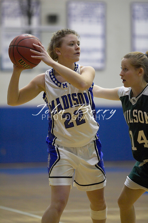 Varsity Girls Basketball..vs Wilson Memorial..January 18, 2005