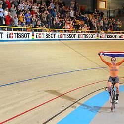 02-03-2018: Wielrennen: WK Baan: Apeldoorn<br />Kirsten Wild pakt de wereldtitel op het omnium bij de vrouwen