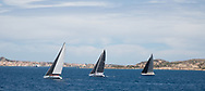 AROBAS, LORINA and WALLYNO during the Rolex Maxi Cup 2017, Costa Smeralda, Porto Cervo Yacht Club Costa Smeralda (YCCS).