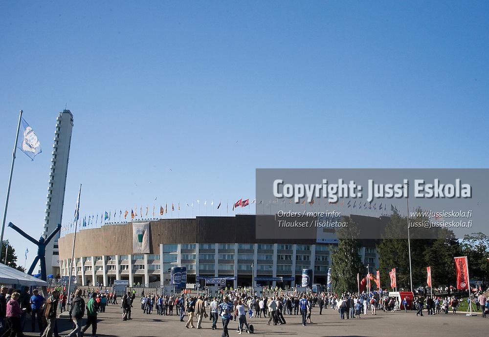 Suomi-Serbia, EM-karsinta, Olympiastadion. Helsinki 2.6.2007. Photo: Jussi Eskola