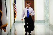 Rep. Jim Jordan (R-OH) Arrives for a press conference called Conversations with Conservatives in the Rayburn House Office Building on Capitol Hill. (Photo For The Dispatch by Pete Marovich)