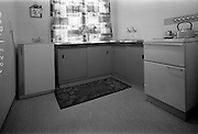 09/06/1967<br /> 06/09/1967<br /> 09 June 1967<br /> Interiors and exteriors of Ballymun Housing, Dublin. Kitchen.