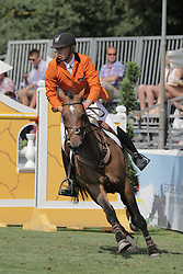 Van den Brink Dennis (NED) - Royal Dream<br /> FEI European Jumping Championship for young riders <br /> Arezzo 2014<br /> © Hippo Foto - Stefano Secchi