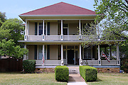 Historic Queen Anne style house in Round Rock, Texas, built by Swedish immigrants in the early 20th Century