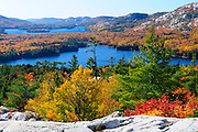 Top of The Crack in Killarney Provincial Park in Northern Ontario, Canada.
