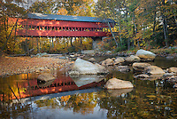 Swift River Covered Bridge, Conway New Hampshire USA
