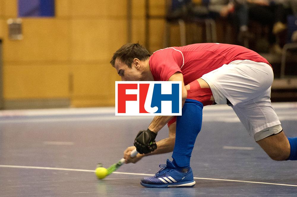 BERLIN - Indoor Hockey World Cup<br /> Kazachstan - Czech Republic<br /> foto:<br /> WORLDSPORTPICS COPYRIGHT FRANK UIJLENBROEK