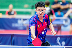 (HKG) TSOI Ming Fai in action during 15th Slovenia Open - Thermana Lasko 2018 Table Tennis for the Disabled, on May 10, 2018 in Dvorana Tri Lilije, Lasko, Slovenia. Photo by Ziga Zupan / Sportida