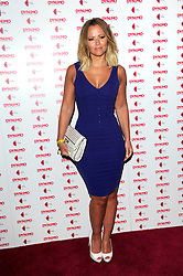 """Dynamo: Magician Impossible series 3. <br /> Kimberley Walsh attends the launch party of Dynamo: Magician Impossible series 3, Held at """"Pulse"""" Blackfriars, <br /> London, United Kingdom<br /> Tuesday, 9th July 2013<br /> Picture by Chris Joseph / i-Images<br /> <br /> File photo - Girls Aloud Star Kimberley Walsh Pregnant. Former Girls Aloud singer Kimberley Walsh has revealed she is expecting her first child with her boyfriend Justin Scott.<br /> <br /> The star told fans the news on Twitter, writing: """"Justin and I are so happy to let you all know we are having a baby!!! Couldn't wait to share our lovely news with you all.<br /> Photo filed Tuesday 25th Feb 2014."""