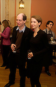 Mr. and Mrs. Alsin de Botton, Party to celebrate the publication of ' The Swallow and the Hummingbird by Santa Sebag-Montefiore. The English Speaking Union. 15 March 2004. ONE TIME USE ONLY - DO NOT ARCHIVE  © Copyright Photograph by Dafydd Jones 66 Stockwell Park Rd. London SW9 0DA Tel 020 7733 0108 www.dafjones.com