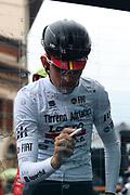 Tiesj Benoot during the UCI World Tour, Tirreno-Adriatico 2018, Stage 5, Castelraimondo to Filottrano, in Italy, on March 11, 2018 - Photo Laurent Lairys / ProSportsImages / DPPI