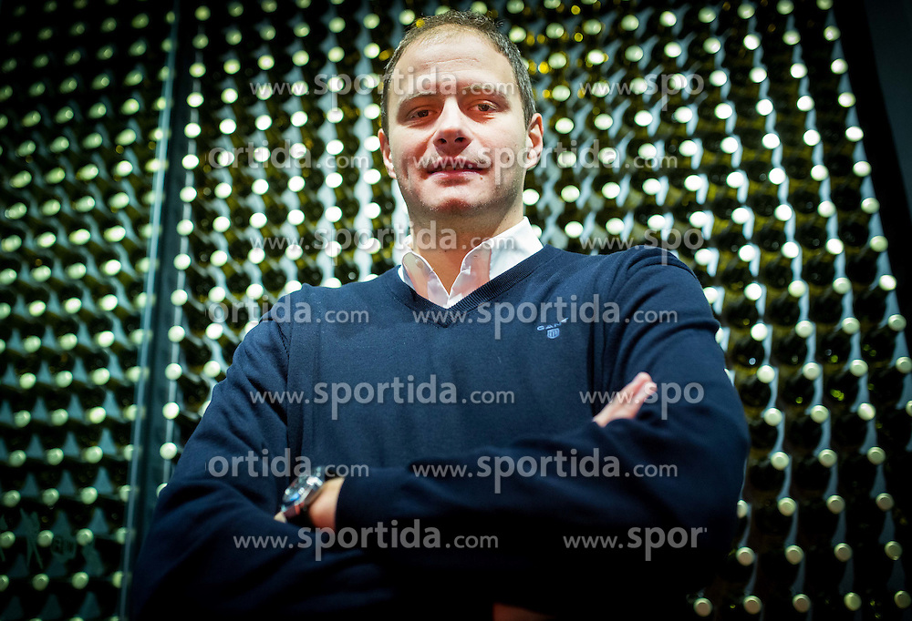 Raso Nesterovic during press conference of Basketball Federation of Slovenia about Competition of Basketball and Football Legends at All-Stars 2014, on December 3, 2014 in Pivovarna Union, Ljubljana, Slovenia. Photo by Vid Ponikvar / Sportida