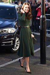 The Duchess of Cambridge visits Family Action's Lewisham base which provides a range of valuable community support for children and families in South London, to launch a new national support line.