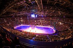 14.11.2012, Arena Zagreb, Zagreb, CRO, EBEL, KHL Medvescak Zagreb vs HDD Telemach Olimpija Ljubljana, 20. Runde, in picture View on the ice rink during the Erste Bank Icehockey League 20th Round match between KHL Medvescak Zagreb and HDD Telemach Olimpija Ljubljana at the Arena Zagreb, Zagreb, Slovenia on 2012/11/14. (Photo By Matic Klansek Velej / Sportida)