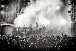Girl Talk performs at The Treasure Island Music Festival - Day 21