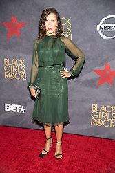 August 6, 2017 - New Jersey, U.S - ROBIN THEDE, at the Black Girls Rock 2017 red carpet. Black Girls Rock 2017 was held at the New Jersey Performing Arts Center in Newark New Jersey. (Credit Image: © Ricky Fitchett via ZUMA Wire)