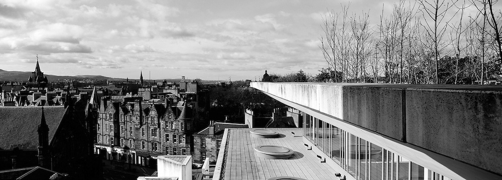 National Museum Of Scotland Panoramic Terrace View