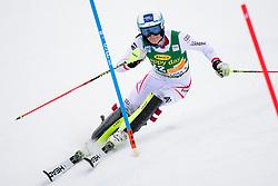 January 7, 2018 - Kranjska Gora, Gorenjska, Slovenia - Carmen Thalmann of Austria competes on course during the Slalom race at the 54th Golden Fox FIS World Cup in Kranjska Gora, Slovenia on January 7, 2018. (Credit Image: © Rok Rakun/Pacific Press via ZUMA Wire)