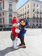 Street Performer, Madrid, Spain