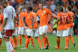 04-06-2014 NED: Vriendschappelijk Nederland - Wales, Amsterdam<br /> Nederland wint met 2-0 van Wales / Stefan de Vrij