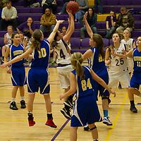 1-27-14 BV 7th Grade Girls vs Harrison