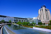 Image of the Yerba Buena Gardens, San Francisco, California, America west coast
