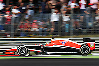 Jules Bianchi (FRA) Marussia F1 Team MR03.<br /> Italian Grand Prix, Sunday 7th September 2014. Monza Italy.