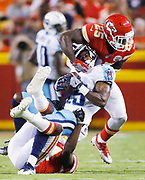 Titans, Kansas City Chiefs NFL football at Arrowhead Stadium in Kansas City, Mo., Thursday, Aug. 31, 2017. (AP Photo/Colin E. Braley)