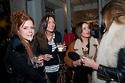 EMMA BURRETT; ZOE SHEPHERD; FLORA PARKINSON; GRACE HUDSON-EVANS, The Volunteer, A fundraiser for a school project in Uganda. The Henry Von Straubenzee Memorial Fund, <br /> Few And Far, 242 Brompton Road, London SW3, 11 February 2010.