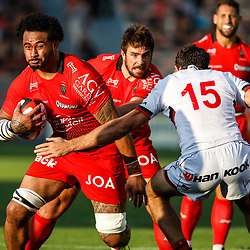 Same Manoa of Toulon during the pre-season match between Rc Toulon and Lyon OU at Felix Mayol Stadium on August 17, 2017 in Toulon, France. (Photo by Guillaume Ruoppolo/Icon Sport)