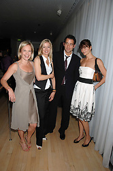 Left to right, MARIELLA FROSTRUP, LADY HELEN TAYLOR, CLIVE OWEN and HELENA CHRISTENSEN at an Evening at Sanderson in Aid of CLIC Sargent held at The Sanderson Hotel, 50 Berners Street, London W1 on 15th May 2007.<br />