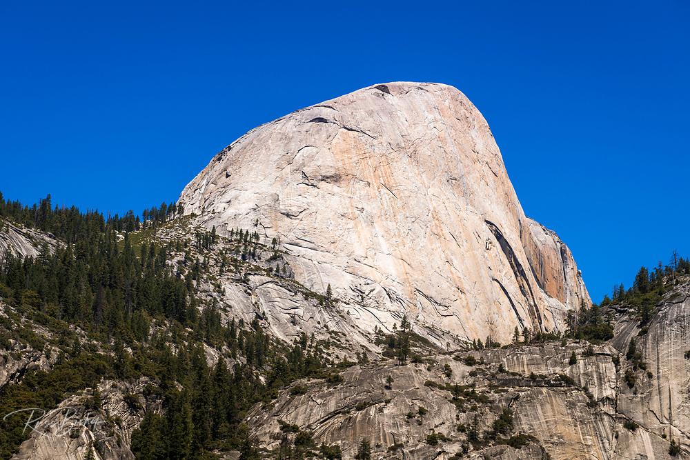 The south face of Half Dome, Yosemite National Park, California USA