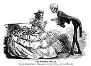 The Arsenic Waltz. The new Dance of Death. (Dedicated to the green wreath and dress-mongers.)