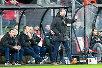 ALKMAAR - 02-02-2016, AZ - HHC, AFAS Stadion, 1-0, HHC trainer Marcel Groninger