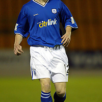 St Johnstone....2003.04<br />Mark Baxter<br /><br />Picture by Graeme Hart.<br />Copyright Perthshire Picture Agency<br />Tel: 01738 623350  Mobile: 07990 594431
