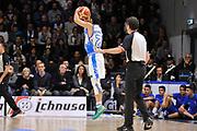 DESCRIZIONE : Campionato 2015/16 Serie A Beko Dinamo Banco di Sardegna Sassari - Umana Reyer Venezia<br /> GIOCATORE : Rok Stipcevic<br /> CATEGORIA : Tiro Tre Punti Three Point Controcampo<br /> SQUADRA : Dinamo Banco di Sardegna Sassari<br /> EVENTO : LegaBasket Serie A Beko 2015/2016<br /> GARA : Dinamo Banco di Sardegna Sassari - Umana Reyer Venezia<br /> DATA : 01/11/2015<br /> SPORT : Pallacanestro <br /> AUTORE : Agenzia Ciamillo-Castoria/C.Atzori