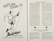 All Ireland Senior Hurling Championship Final,.Brochures,.02.09.1945, 09.02.1945, 2nd September 1945,.Tipperary 5-6, Kilkenny 3-6, .Minor Dublin v Tipperary, .Senior Tipperary v Kilkenny, .Croke Park, ..Advertisements, Twomey's Cakes and Pastries Lending Library, Lemon's Pure Sweets, Merville Cream Ices Craigie Bros Tolak Vale Finglas, ..Articles, Teachings of Davis, .