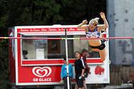 26.8.20112, Hiihtostadion, Lahti..Yleisurheilun Kalevan Kisat 2012. .Naisten seiväs..Minna Nikkanen - Someron Esa