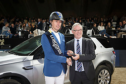 Ahlmann Christian, (GER) <br /> Longines FEI World Cup presented by Landrover<br /> Vlaanderen Kerstjumping - Memorial Eric Wauters - <br /> Mechelen 2015<br /> © Hippo Foto - Dirk Caremans<br /> 30/12/15
