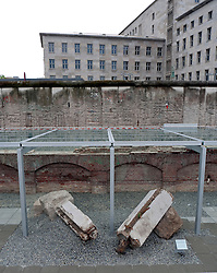 Exterior of new Topographie of Terror historical museum on site of former Gestapo headquarters in Berlin Germany