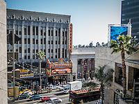 Hollywood Boulevarde, Los Angeles.