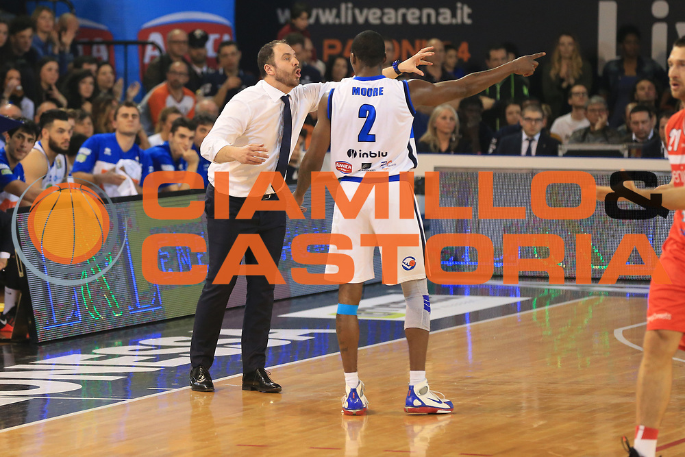 Diana Andrea<br /> Germani Basket Brescia vs Openjobmetis Varese<br /> Lega Basket Serie A 2016/2017<br /> Citt&agrave; 19/03/2017<br /> Foto Ciamillo-Castoria/A.Gilardi