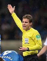 Fussball 1. Bundesliga 2012/2013: Relegation  Bundesliga / 2. Liga  TSG 1899 Hoffenheim  - 1. FC Kaiserslautern          23.05.2013 Schiedsrichter Felix Brych