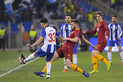 February 12, 2019 - Roma, Roma, Italia - Foto Luciano Rossi/AS Roma/ LaPresse.12/02/2019 Roma (Italia).Sport Calcio.AS Roma - Porto  .Uefa Champions League 2018 2019 - Stadio Olimpico di Roma.Nella foto: Bryan Cristante..Photo  Luciano Rossi/AS Roma/ LaPresse.12/02/2019 Roma (Italia).Sport Soccer.AS Roma - Porto   .Uefa Champions League 2018 2019 - Olimpic Stadium of Roma (Italy).In the pic: Bryan Cristante (Credit Image: © Luciano Rossi/Lapresse via ZUMA Press)