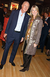 GALEN & HILARY WESTON at a 2nd party to celebrate the opening on Sac Freres at 7 Grafton Street, London W1 on 3rd November 2005.<br />